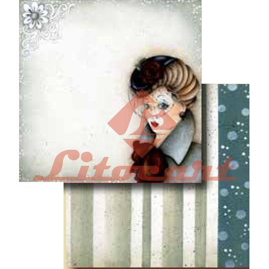 Papel-Scrapbook-Duplo-Flores-LSCD-248-Litocart