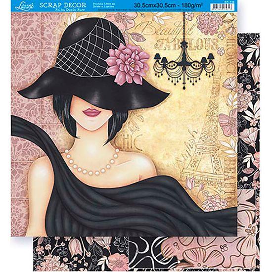 Scrapbook-Folha-Dupla-Face-Flores-SD-336---Litoarte