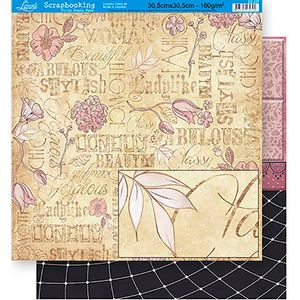 Scrapbook-Folha-Dupla-Face-Flores-SD-337---Litoarte