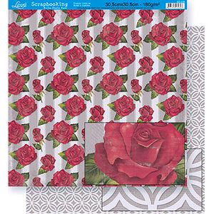 Scrapbook-Folha-Dupla-Face-Flores-SD-339---Litoarte-