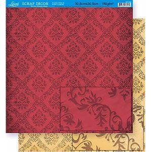Scrapbook-Folha-Dupla-Face-Flores-SD-352---Litoarte