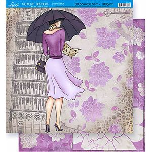 Scrapbook-Folha-Dupla-Face-Flores-SD-355---Litoarte-