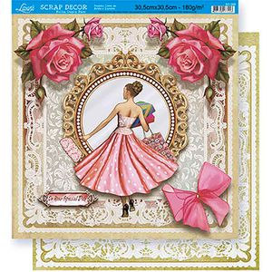 Scrapbook-Folha-Dupla-Face-Flores-SD-369---Litoarte-