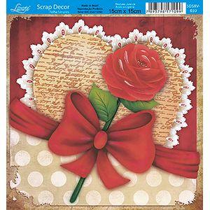 Papel-Scrap-Decor-Folha-Simples-15x15-Flores-SDSXV-030---Litoarte-