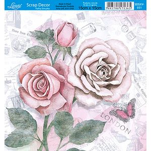 Papel-Scrap-Decor-Folha-Simples-15x15-Flores-SDSXV-031---Litoarte-