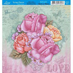 Papel-Scrap-Decor-Folha-Simples-15x15-Flores-SDSXV-040---Litoarte