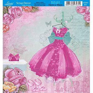 Papel-Scrap-Decor-Folha-Simples-15x15-Flores-SDSXV-041---Litoarte
