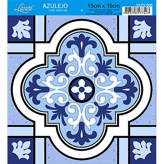 Papel-para-Decoupage-Adesivo-Azulejo-Vinil-4-Unidades-VAXV-006---Litoarte