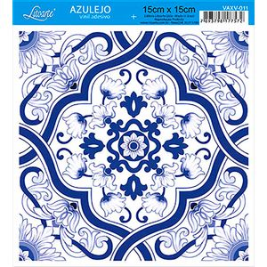 Papel-para-Decoupage-Adesivo-Azulejo-Vinil-4-Unidades-VAXV-011---Litoarte