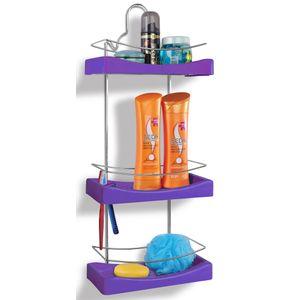 Porta-Shampoo-Triplo-Cromo-Colors-Aco-e-Plastico-Lilas-350-8---Niquelart