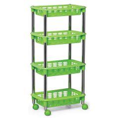 Fruteira---Organizador-Cromo-Colors-4-Andares-Retangular-Verde-364-3---Niquelart