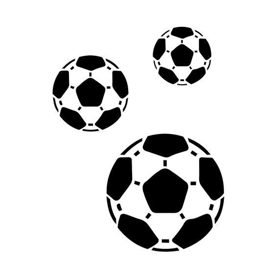 Estencil-para-Pintura-Simples-15x20-Bolas-de-Futebol-OPA161---Opa-