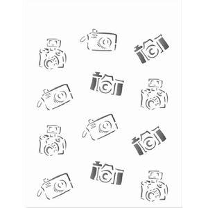 Estencil-para-Pintura-Simples-15x20-Cameras-de-Foto-OPA1211---Opa