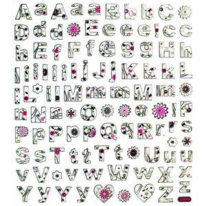 Adesivo-Artesanal-I-Alfabeto-Floral-AD1516---Toke-e-Crie