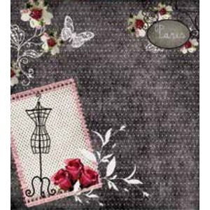 Papel-Scrap-Decor-XX-Folha-Simples-20x20-Paris-LSCXX-009---Litocart-