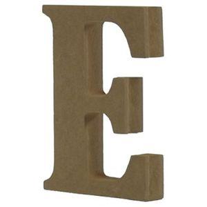 Enfeite-de-Mesa-Letra--E--18cm-x-18mm---Madeira-MDF
