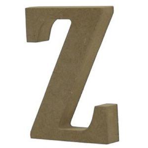 Enfeite-de-Mesa-Letra--Z--18cm-x-18mm---Madeira-MDF