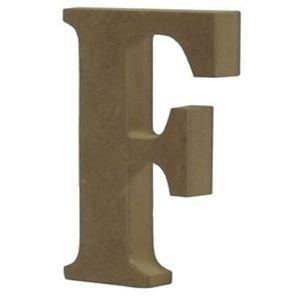 Enfeite-de-Mesa-Letra--F--24cm-x-18mm---Madeira-MDF