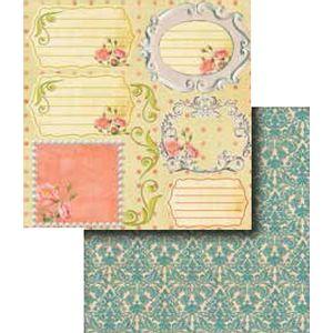 Papel-Scrapbook-Duplo-Flores-LSCD-270---Litocart