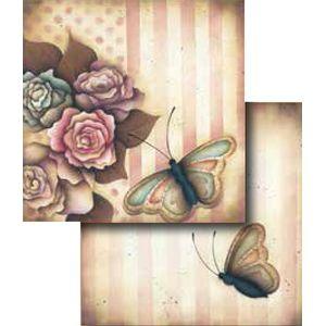 Papel-Scrapbook-Duplo-Flores-LSCD-266---Litocart