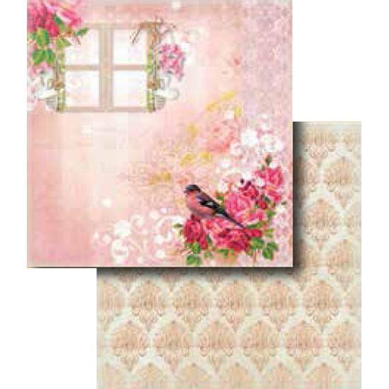 Papel-Scrapbook-Duplo-Flores-LSCD-275---Litocart
