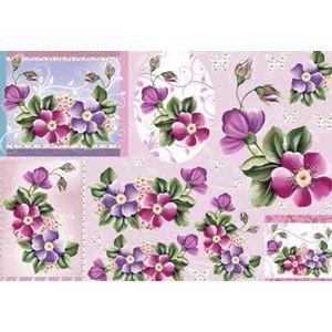 Papel-Decoupage-Grande-Flores---LD-776---Litocart