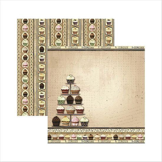 Papel-Scrapbook-Fabrica-de-Cupcakes-Mostruario-SDF437---Toke-e-Crie