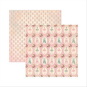 Papel-Scrapbook-Colecoes-Bailarinas-Medalhoes-SDF506---Toke-e-Crie-by-Ivana-Madi