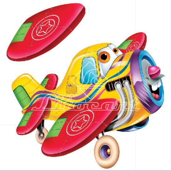 Aplique-Madeira-e-Papel-3D-Aviao-LDMPC-023---Litocart
