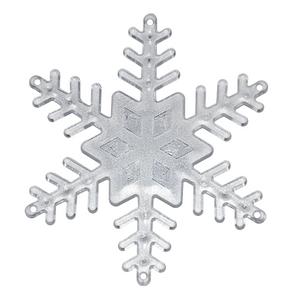 Base-Floco-de-Neve-Transparente-Pequena-com-4-pecas---Blue-Star