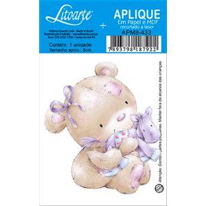 Decoupage-Aplique-em-Papel-e-MDF-Ursinho-APM8-433---Litoarte--16652-