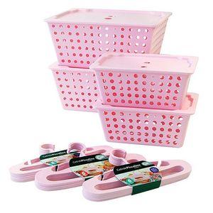 Conjunto-para-Organizacao-22-pecas-Rosa-Baby-99130-2067---Coza