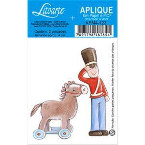 Decoupage-Aplique-em-Papel-e-MDF-Soldado-e-Cavalinho-APM4-123---Litoarte