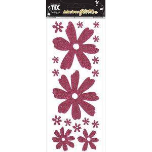 Adesivo-Glitter-Flores-AD946---Toke-e-Crie