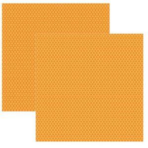 Papel-Scrapbook-Basico-Laranja-Florzinha-KFSB341---Toke-e-Crie-by-Ivana-Madi