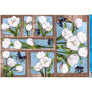 Papel-Decoupage-Grande-Flor-e-Borboleta-PD-893---Litoarte