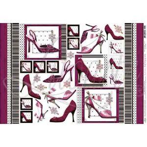 Papel-Decoupage-Grande-Sapatos-PD-188---Litoarte