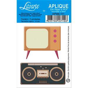 Decoupage-Aplique-em-Papel-e-MDF-Radio-e-TV-APM4-111---Litoarte
