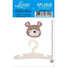 Decoupage-Aplique-em-Papel-e-MDF-Cabide-e-Ursinho-APM4-113---Litoarte