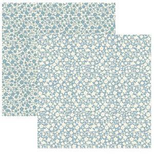 Papel-Scrapbook-Basico-Classic-Floral-Verde-Agua-KFSB325---Toke-e-Crie-by-Ivana-Madi