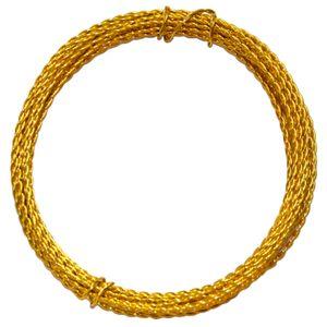 Arame-Trancado-para-Artesanato-com-5-metros-Ouro---Blue-Star-
