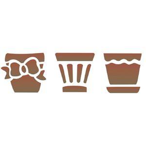 Estencil-para-Pintura-Simples-10x30-Trio-Vasos-OPA1475---Opa