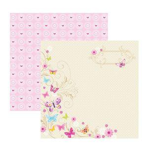 Papel-Scrapbook-Borboletas-Encantadas-SDF382---Toke-e-Crie-