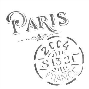 Estencil-para-Pintura-Simples-14x14-Selo-Paris---OPA1742---Opa