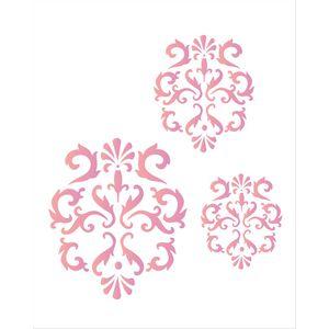 Estencil-para-Pintura-Simples-20X25-Arabesco-Jarro---OPA1762---Opa