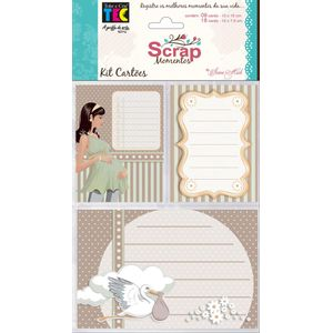 Kit-Cartoes-para-Scrap-Momentos-Gravidez-KCSM005---Toke-e-Crie-By-Ivana-Madi