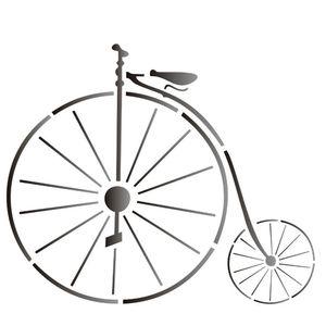 Estencil-para-Pintura-Simples-15x20-Bicicleta-OPA1312---Opa