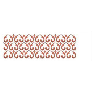 Estencil-para-Pintura-Simples-10x30-Border-Coracao-OPA961---Opa