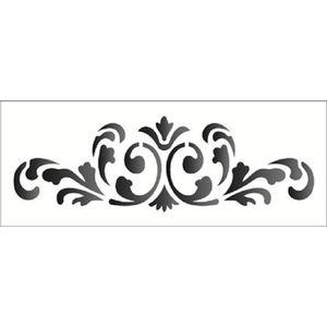 Estencil-Wall-para-Pintura-Simples-17x42-Arabesco-Colonial-OPA1221---Opa