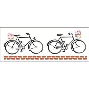 Estencil-Wall-para-Pintura-Simples-17x42-Bicicletas-OPA1225---Opa